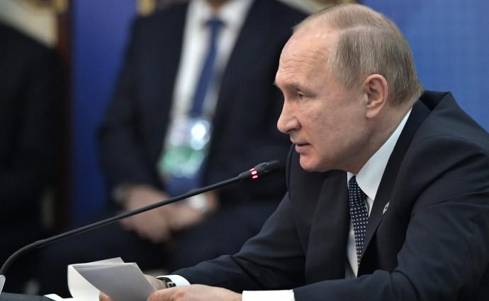 Выступление Путина на заседании Совета коллективной безопасности