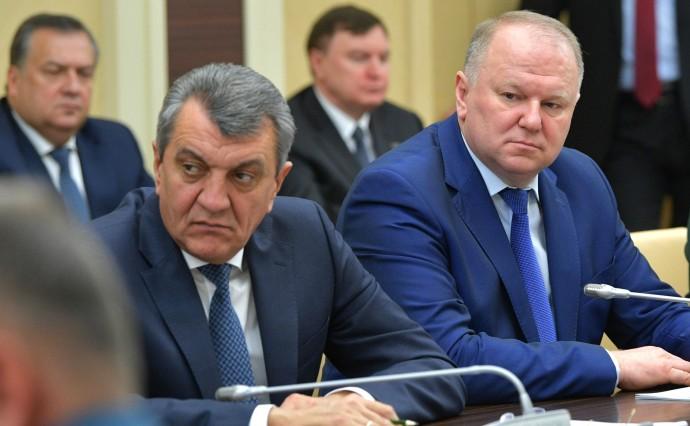 Сергей Меняйло (слева) и Николай Цуканов