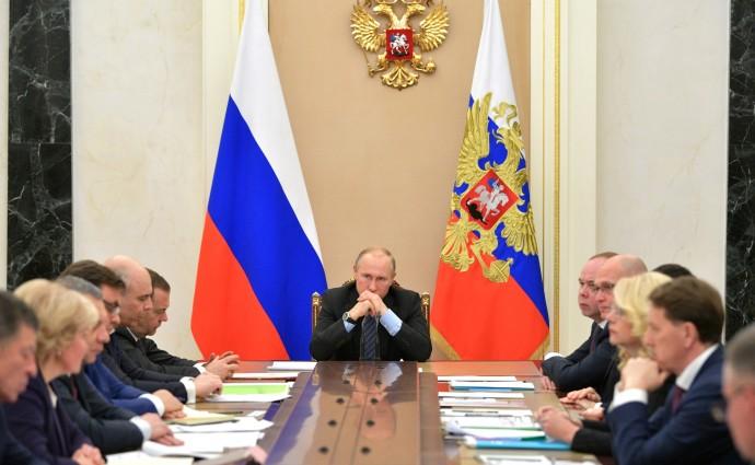 Голикова рассказывает Президенту о законопроекте о паллиативной медицинской помощи