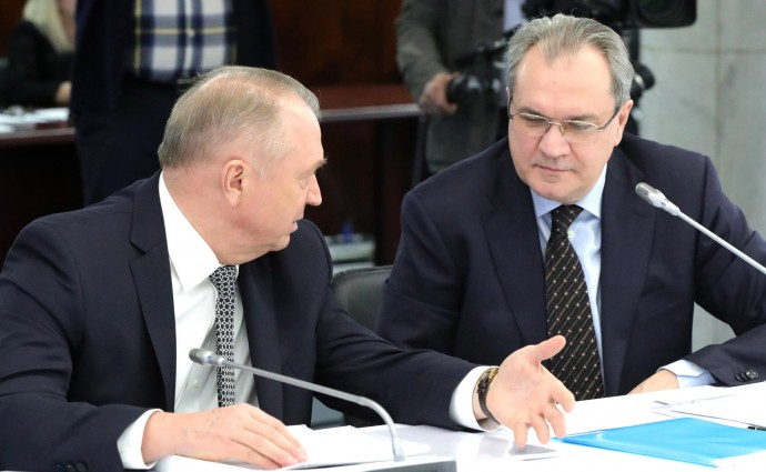 Сергей Катырин и Валерий Фадеев