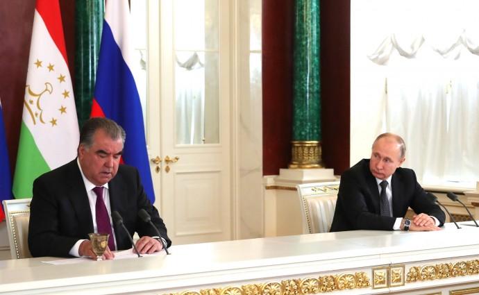 Заявления для прессы по итогам российско-таджикистанских переговоров