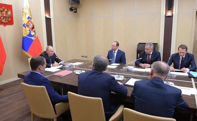 На заседании Совета Безопасности Российской Федерации
