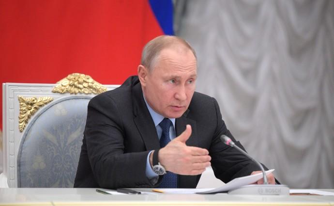 Речь Путина на заседании Совета при Президенте по стратегическому развитию и национальным проектам