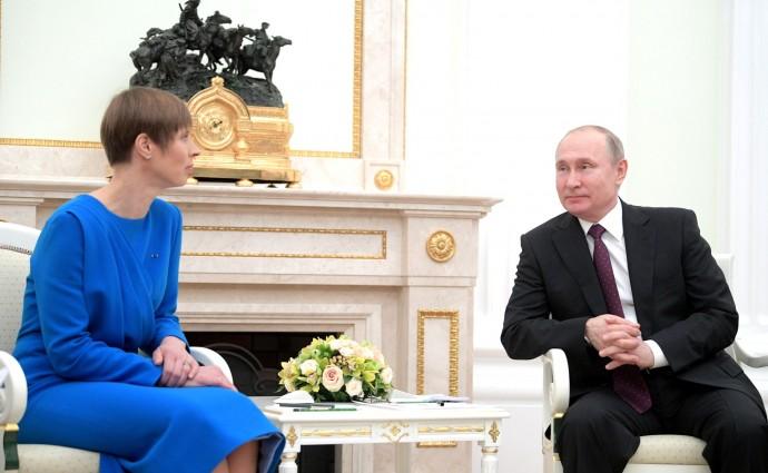 Президент РФ с Президентом Эстонской Республики