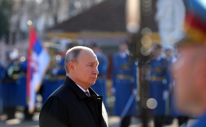 Президент России почтил память погибших