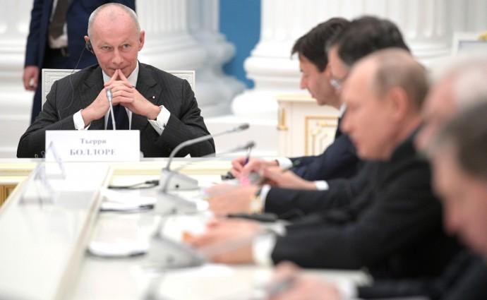 Генеральный директор концерна «Рено» Тьерри Боллоре