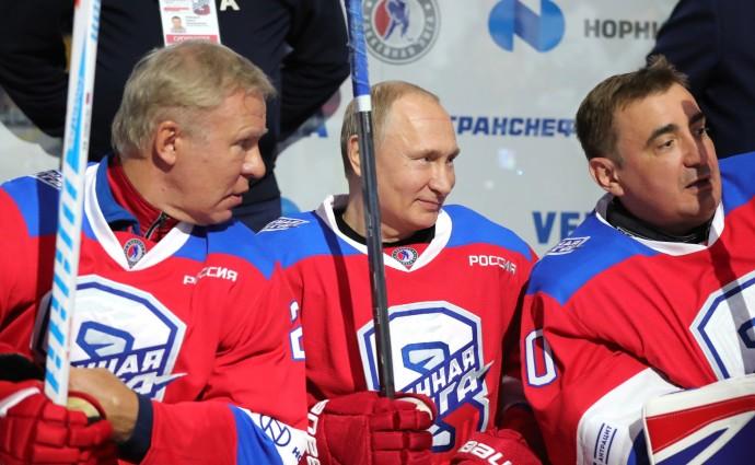 Путин с партнерами по команде