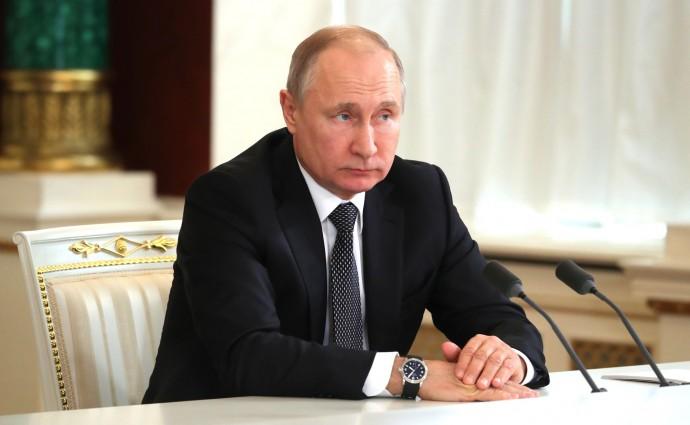Путин в ходе заявлений для прессы по итогам российско-таджикистанских переговоров