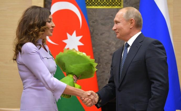 Мехрибан Алиева награждена государственной наградой Российской Федерации
