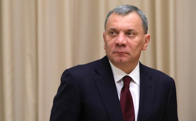 Юрий Борисов перед началом совещания