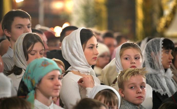 Рождественская ночь в Спасо-Преображенском соборе