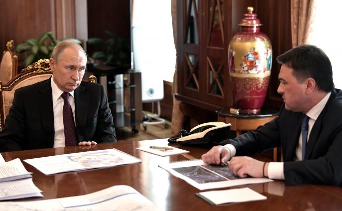 Президент слушает Андрея Воробьёва