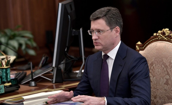 Александр Новак рассказывает главе государства об успехах и задачах
