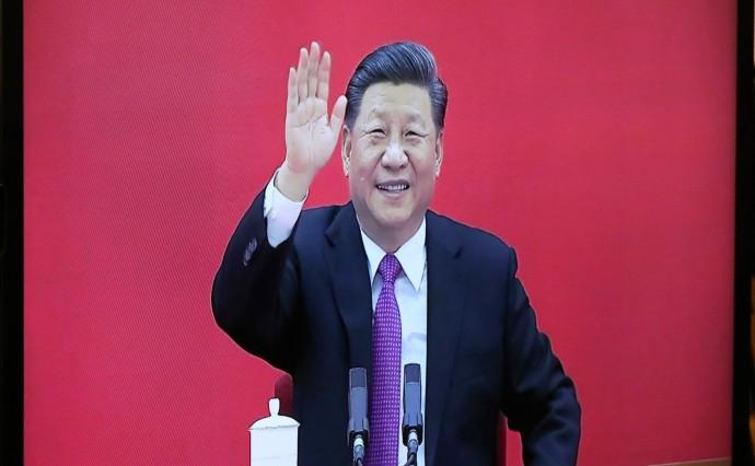 Председатель КНР Си Цзиньпин крупным планом