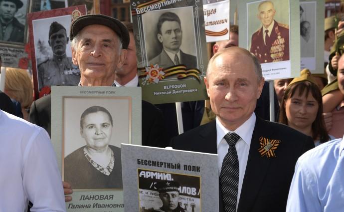 Путин и Лановой