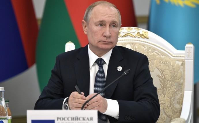 Путин крупным планом