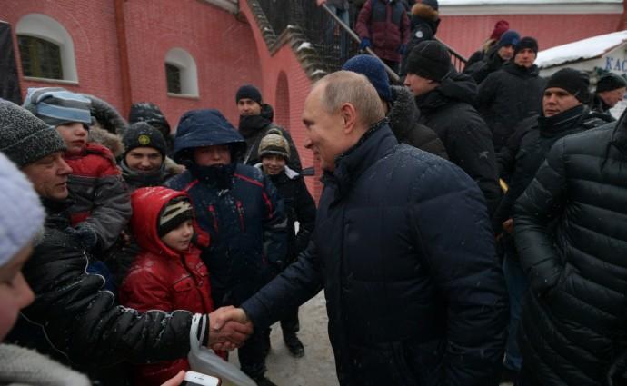 Народные гуляния в Петропавловской крепости