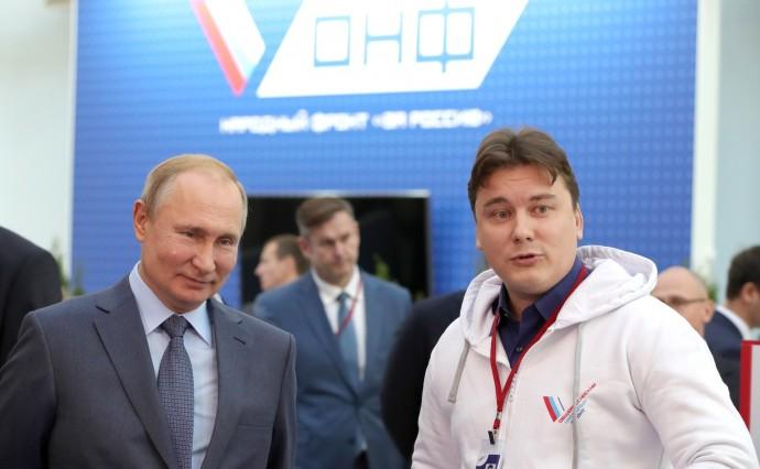 Путин и Дмитрий Поликанов