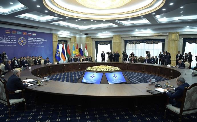 Заседание Совета коллективной безопасности Организации