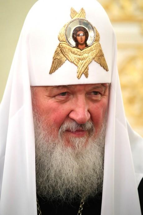 Встреча с Патриархом Московским и всея Руси Кириллом и Патриархом Иерусалимским Феофилом III