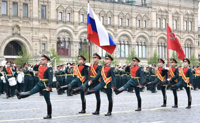 Военный парад в ознаменование 74-й годовщины Победы в Великой Отечественной войне
