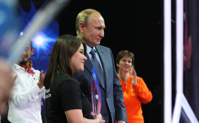 Фото Путина с Инессой Клюкиной