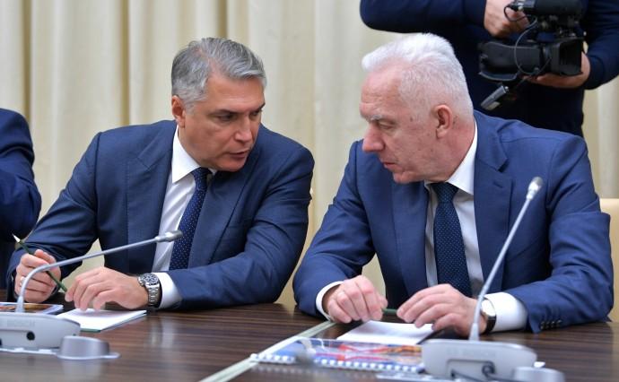 Александр Гуцан (справа) и Александр Матовников
