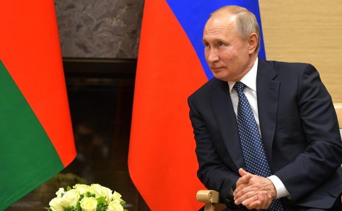 Владимир Путин на встрече с Первым вице-президентом Азербайджана