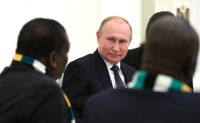Российско-зимбабвийские переговоры