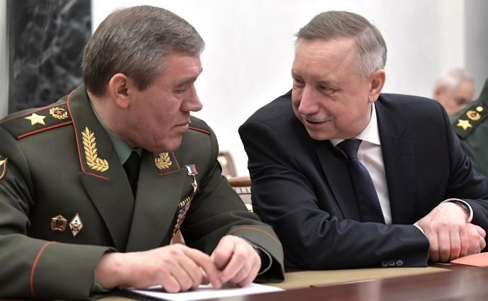 Валерий Герасимов и Александр Беглов