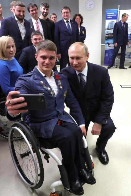 Селфи с Владмиром Путиным