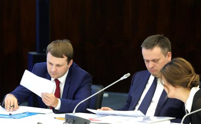 Максим Орешкин и Андрей Никитин