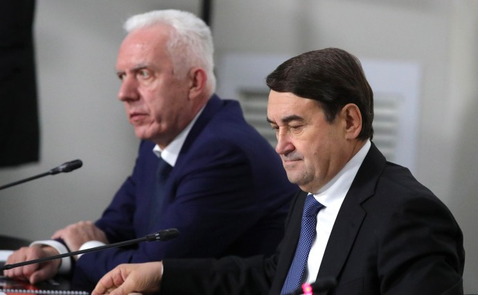 Игорь Левитин (справа) и Александр Гуцан
