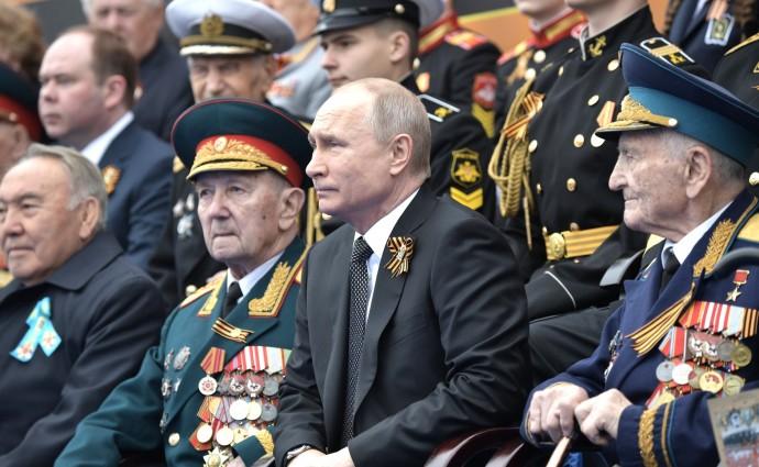 Глава государства и ветераны Великой Отечественной войны