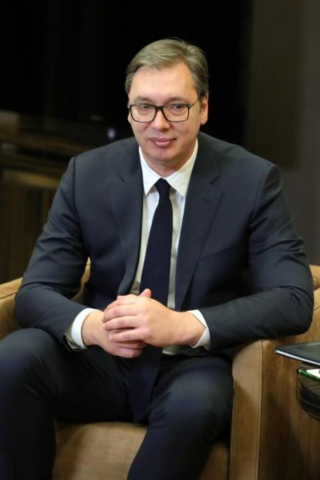 Президент Республики Сербия Александр Вучич