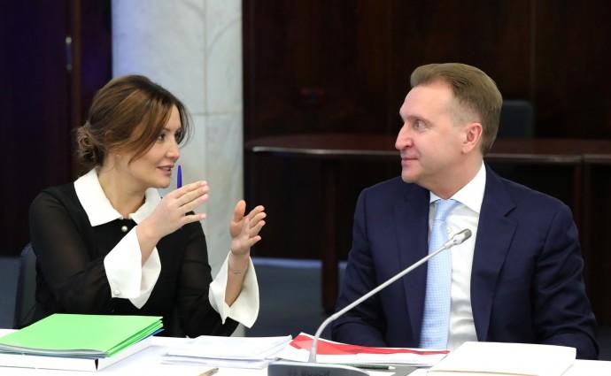 Светлана Чупшева и Игорь Шувалов