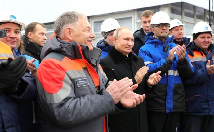 На церемонии открытия автомобильной дороги М11 «Москва – Санкт-Петербург»