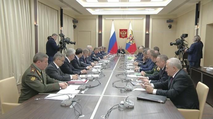 Видео заседания Совета Безопасности Российской Федерации 22 ноября 2019 года