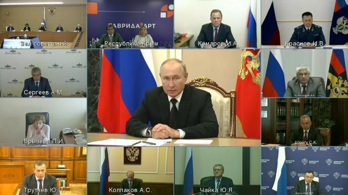 Видео с заседания Российского организационного комитета «Победа» 9 сентября 2021 года