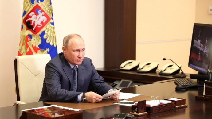 Видео совещания Путина счленами Правительства 13 мая 2021 года