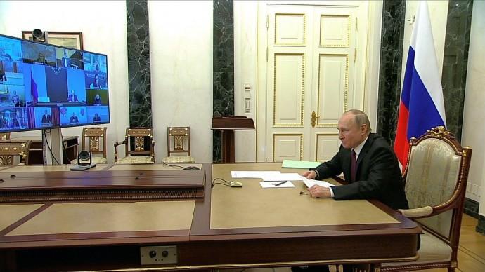 Видео со встречи Путина слауреатами премий Президента 25 марта 2021 года