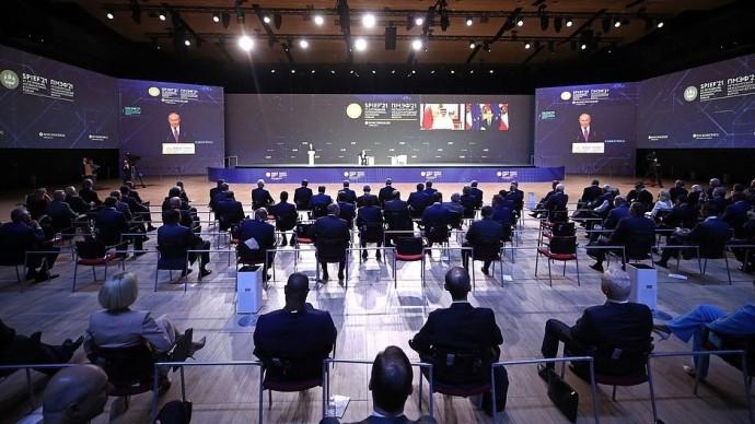 Видео: речь Владимира Путина на заседании экономического форума 4 июня 2021 года