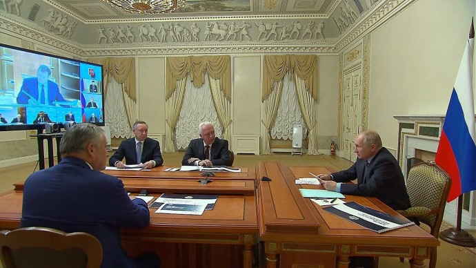 Видео: Совещание Владимира Путина повопросам развития транспортного узла 26 июля 2021 года