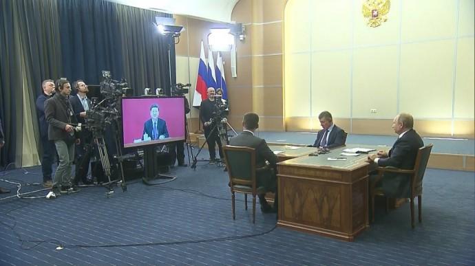 Видео запуска Путиным газопровода «Сила Сибири» 2 декабря 2019 года