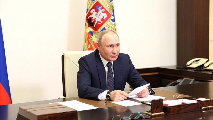 Видео: Выступление Владимира Путина на совещании 19 мая 2021 года