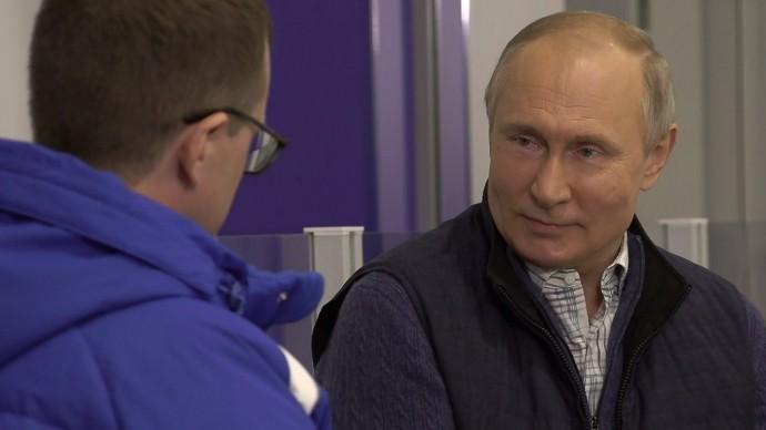 Видео второй части интервью Путина телеканалу «Россия» 14 июня 2021 года