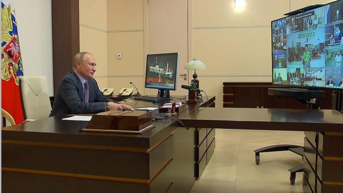 Видео со встречи Путина спредставителями общественных организаций инвалидов 3 декабря 2020 года