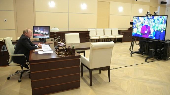 Видео открытого урока врамках форума «ПроеКТОриЯ» с Владимиром Путиным 26 ноября 2019 года
