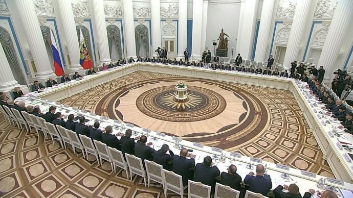 Видео заседания Совета постратегическому развитию инацпроектам 25 декабря 2019 года