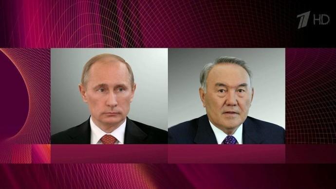 Нурсултан Назарбаев рассказал Владимиру Путину обитогах визита вСША